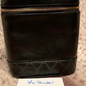 Authentic Chanel Vintage Vanity Case